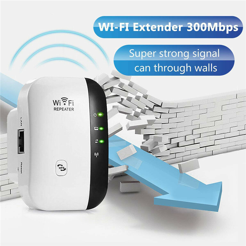 WiFi Wireless Range Extender Super Booster 300-Mbps Superboo