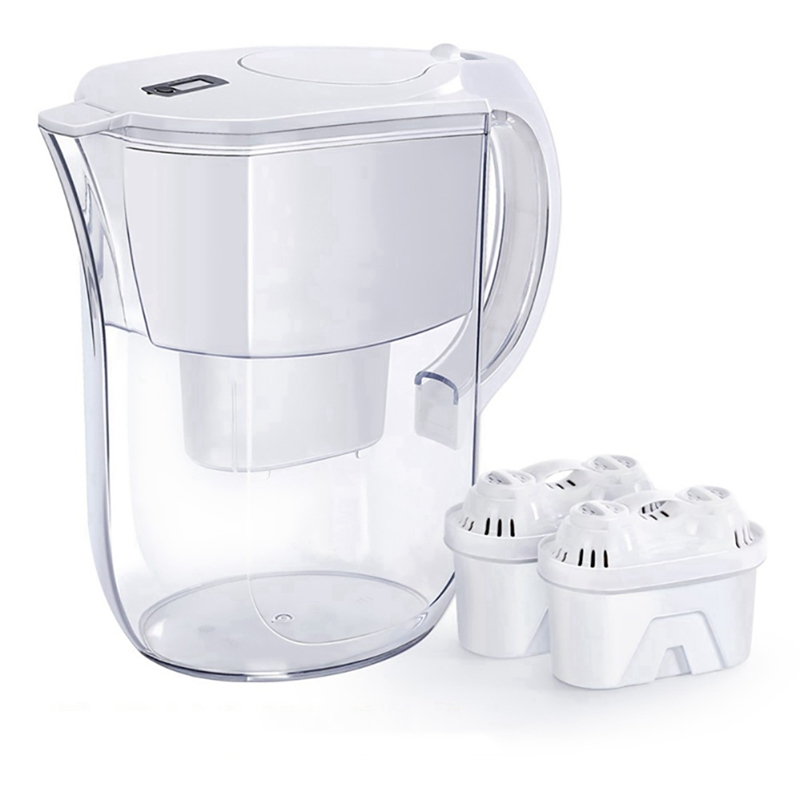 Water Filter Pitcher Jug 3.8L Drinking Purifier Filtration K