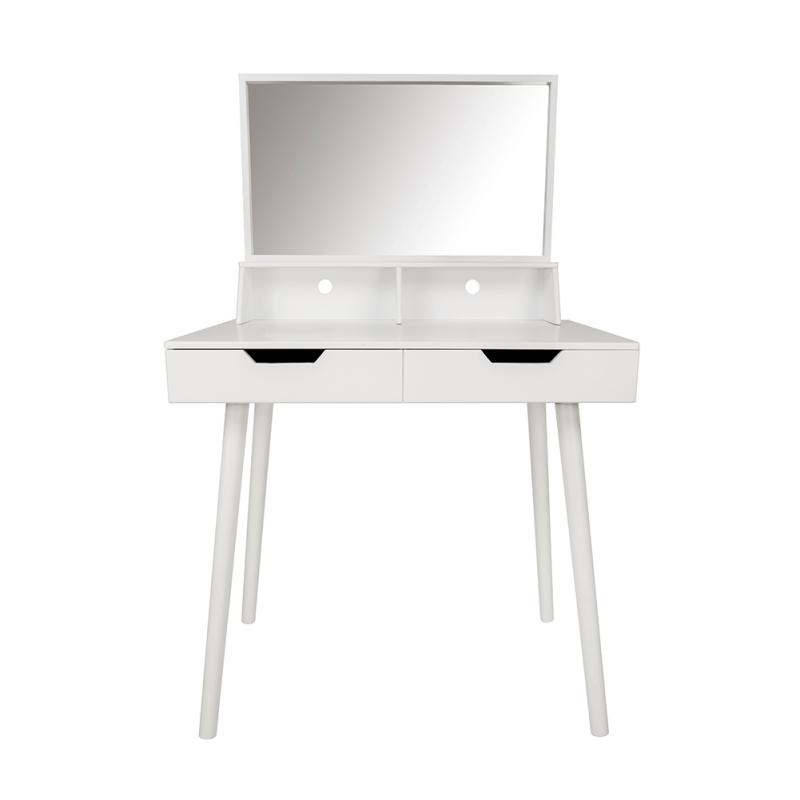 Home Office Computer Desk Workstation Laptop Table Shelves 2