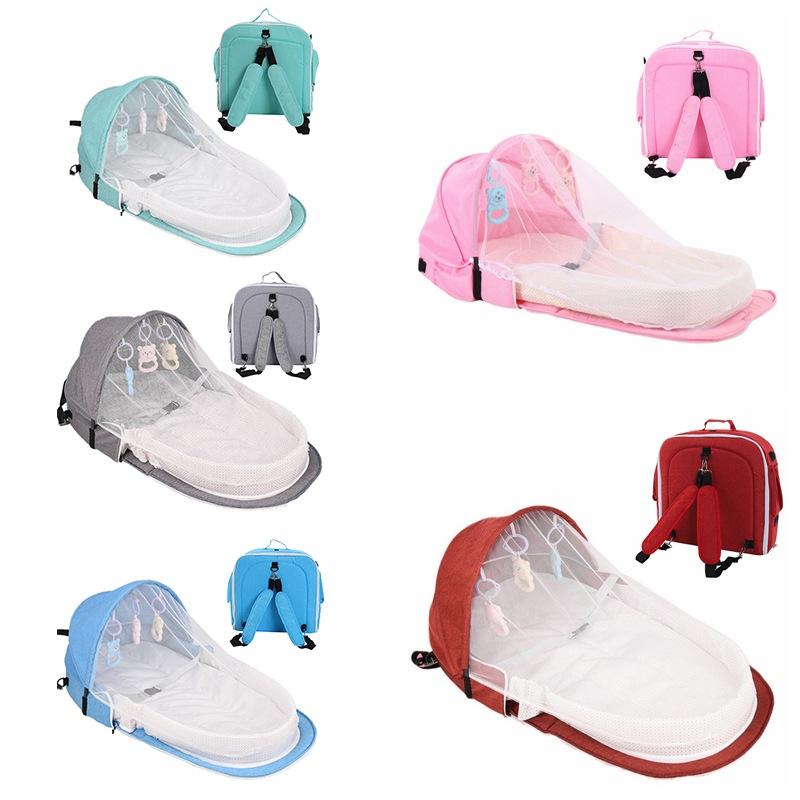 Baby Travel Portable Bed Crib Newborn Multi-function Foldabl