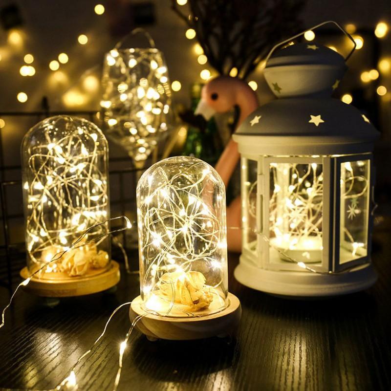 3M Silver Wire 30 LED DC4.5V String Lights Fairy Party Splendid Wedding 452E